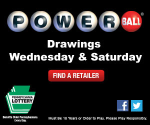 PA Lottery Powerball 300 x 250