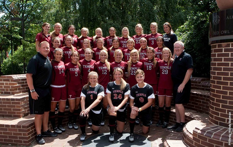2014 Women's Soccer Team Photo