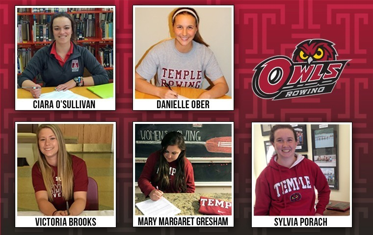 Women's Rowing April 2015 Signees
